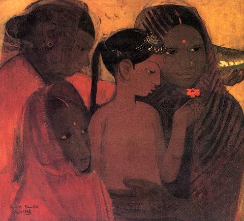 Tribal Women, 1938 - Amrita Sher-Gil