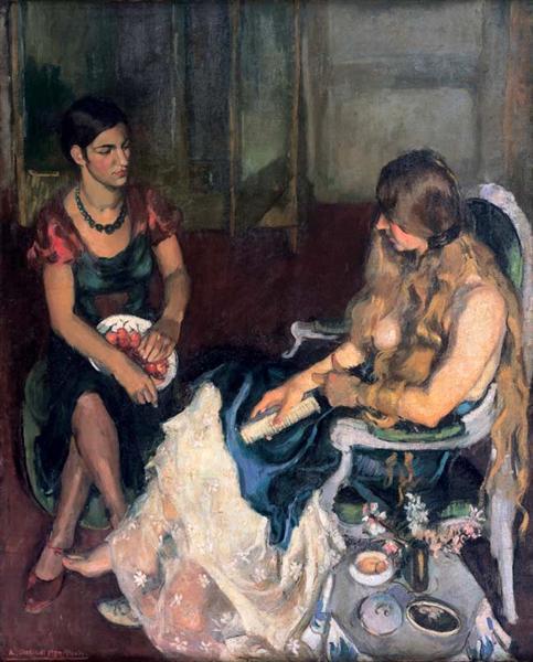 Young Girls, 1932 - Amrita Sher-Gil