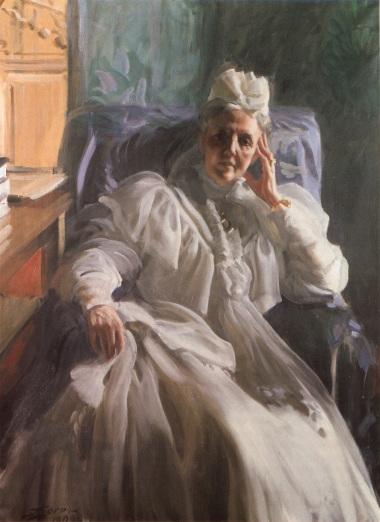Queen Sophia - Anders Zorn