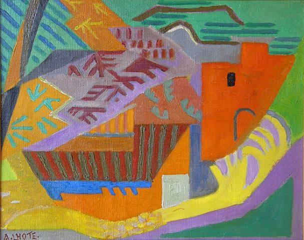 Mirmande, 1930 - André Lhote