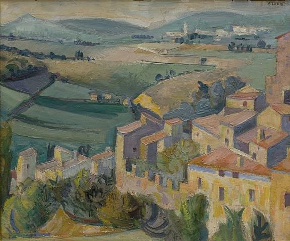 Mirmande, 1932 - André Lhote