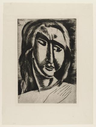 Head of a Woman, 1910 - Andre Derain