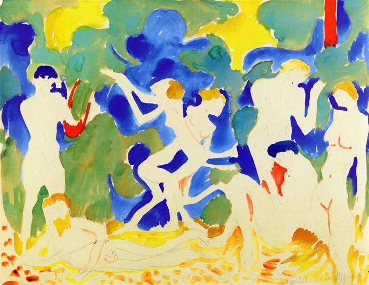 Music, 1904 - Andre Derain