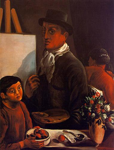The Artist in his Studio - Andre Derain