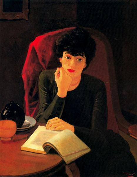 The Cup of Tea, 1935 - Andre Derain