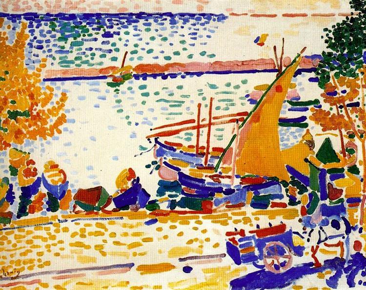 The Port of Collioure, 1905 - Андре Дерен