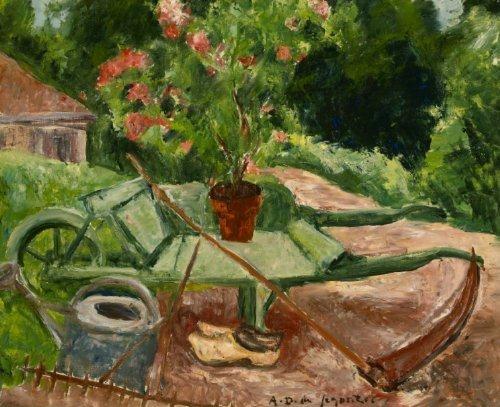 La brouette, 1934 - Andre Dunoyer de Segonzac