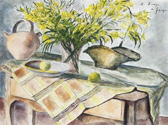 Les mimosas, 1970 - Андре Дюнуайє де Сегонзак