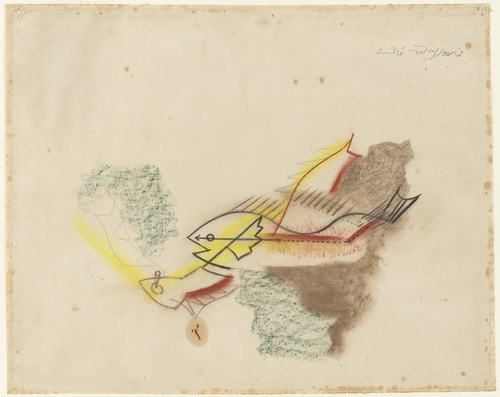 Battle of the Fishes, 1927 - Andre Masson