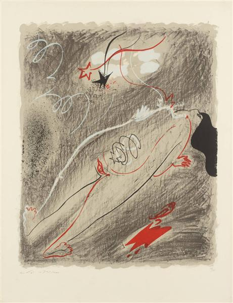 Childbirth, 1955 - Andre Masson