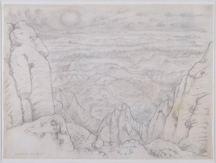 Montserrat, 1934 - André Masson