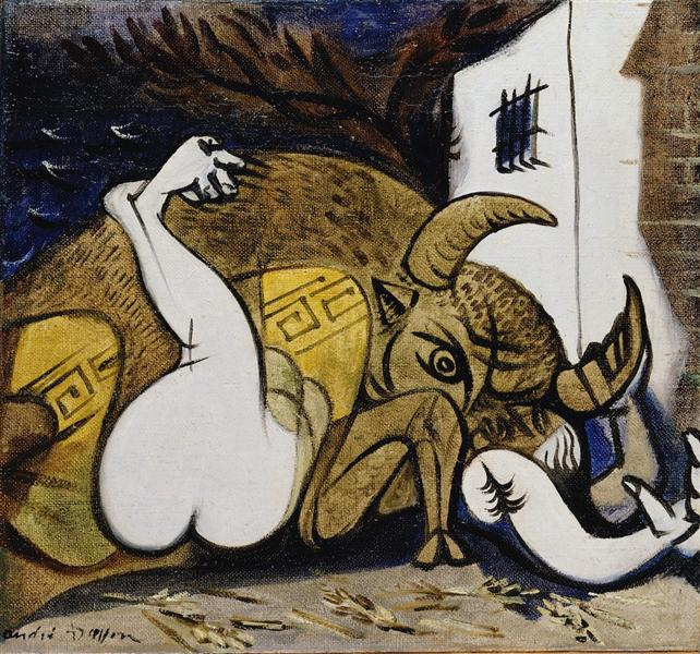 Pasiphae, 1937 - André Masson
