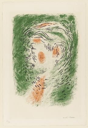 Portrait of Tal Coat, 1948 - Andre Masson