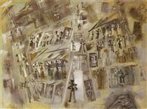 Prison Gray - Andre Masson