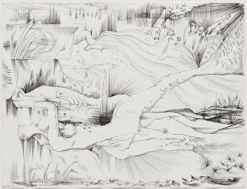 Prisoner of the Mirror: Transfiguring Your Death, 1939 - Андре Массон