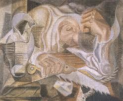 The Sleeper, 1924 - Андре Массон