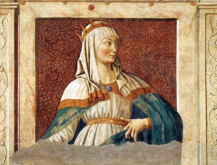 Queen Esther, c.1450 - Andrea del Castagno