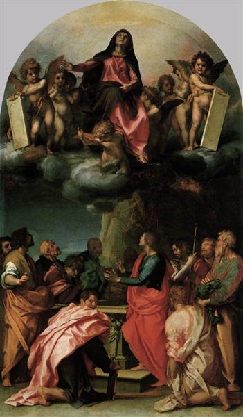 Assumption of the Virgin, 1529 - Andrea del Sarto