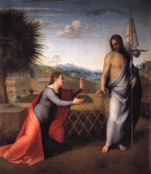 Noli Me Tangere, c.1510 - Andrea del Sarto