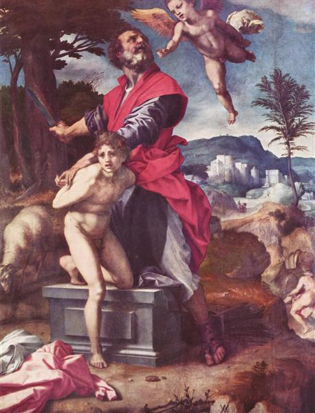 The Sacrifice of Abraham, c.1527 - c.1528 - Andrea del Sarto