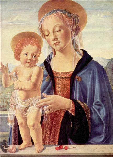 Madonna and Child, c.1470 - c.1475 - Andrea del Verrocchio
