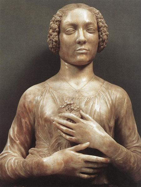 Portrait of a Woman - Andrea del Verrocchio
