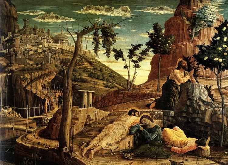 Prayer in the Garden, 1459 - Andrea Mantegna