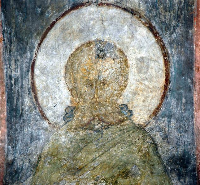 The Last Judgement: Sabbas the Sanctified, 1408 - Andrei Rublev