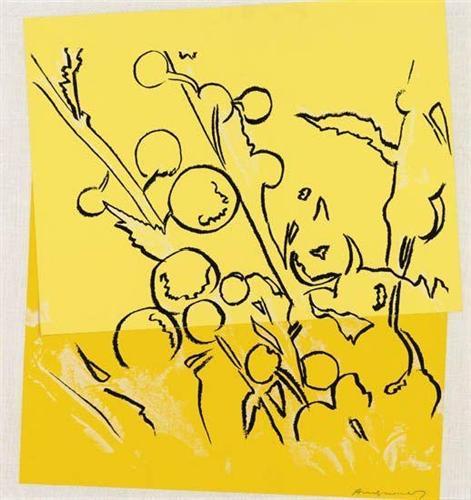 Mimosas - Andy Warhol