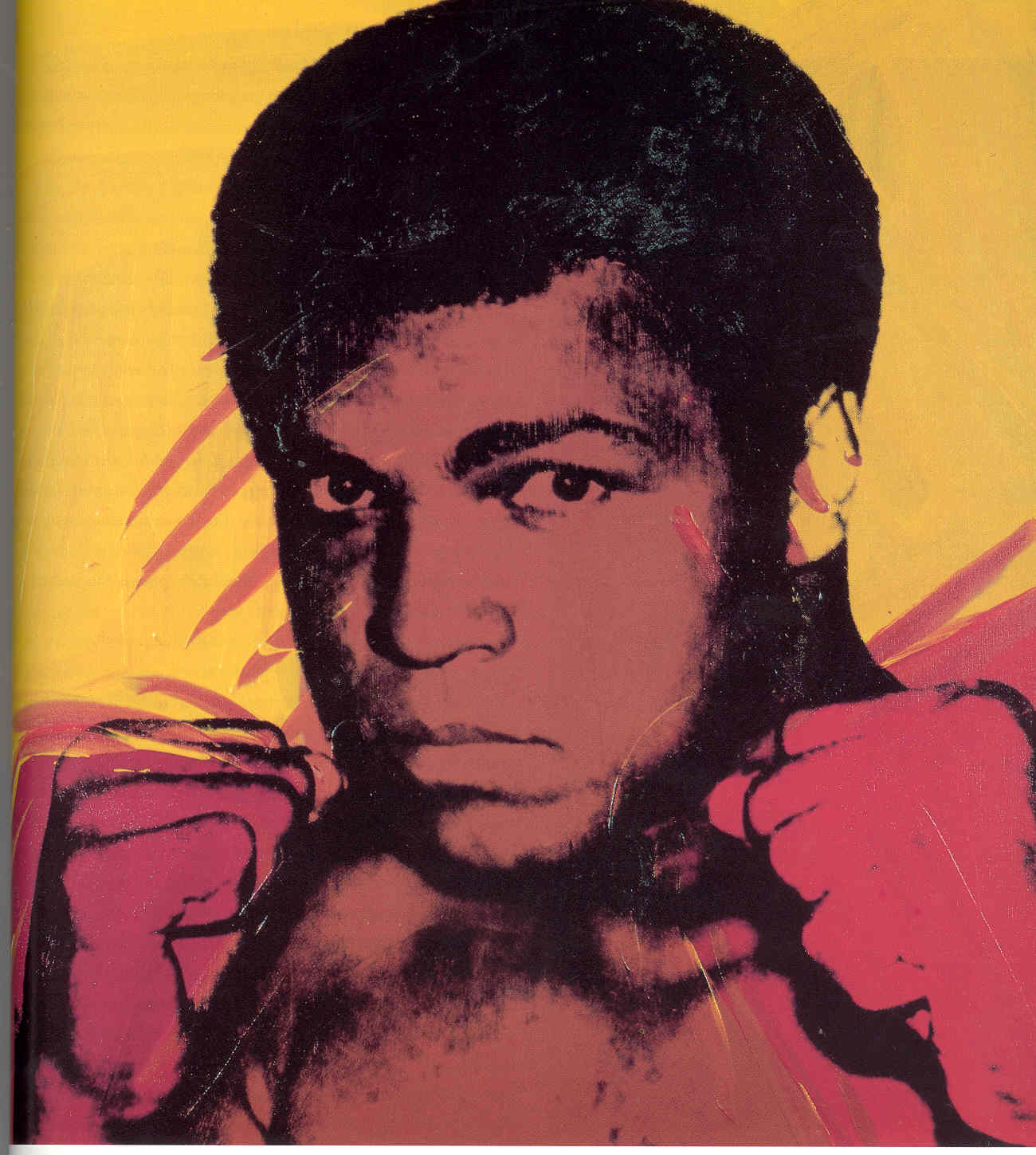 Muhammad ali 1979 andy warhol for Andy warhol famous works