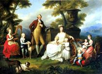 Ferdinand IV of Naples and his family - Angelica Kauffman