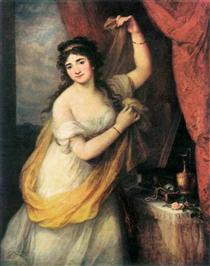 Portrait Of A Woman - Angelica Kauffman