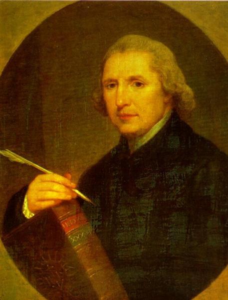 Portrait of Lorenzo Hervas y Panduro, 1794 - Angelica Kauffman
