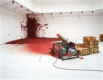 Shooting Into the Corner - Anish Kapoor