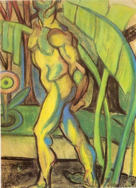 O homem de sete cores, 1916 - Анита Малфатти