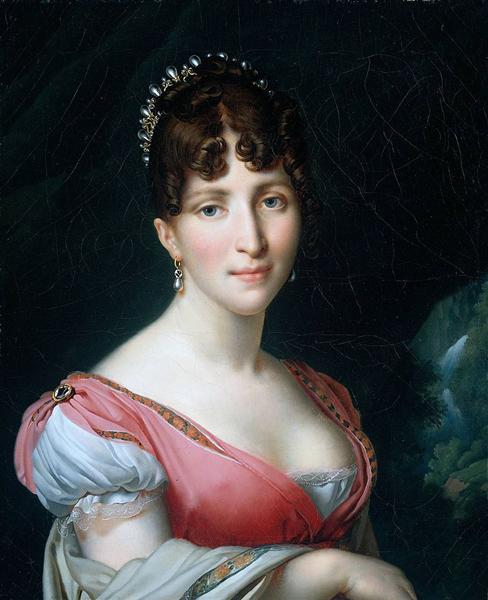 Hortense de Beauharnais - Anne-Louis Girodet de Roussy-Trioson