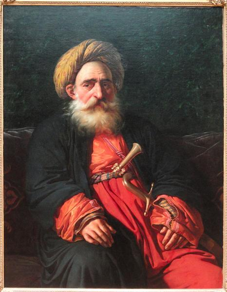 Portrait of the Katchef Dahouth, Christian Mameluke, 1804 - Anne-Louis Girodet