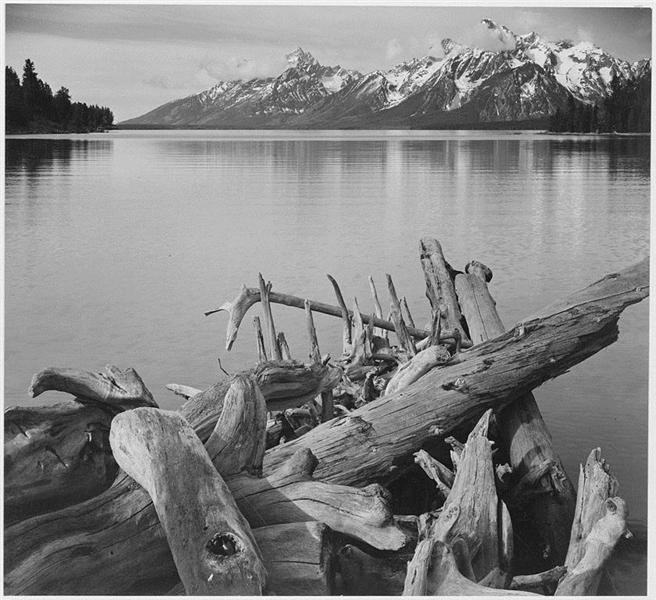 Grand Teton National Park, Wyoming - Ansel Adams