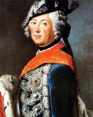 Frederick II of Prussia, 1750 - Antoine Pesne