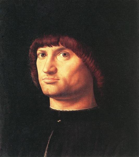 Portrait of a Man (The Condottiero), 1475 - Антонелло да Мессіна