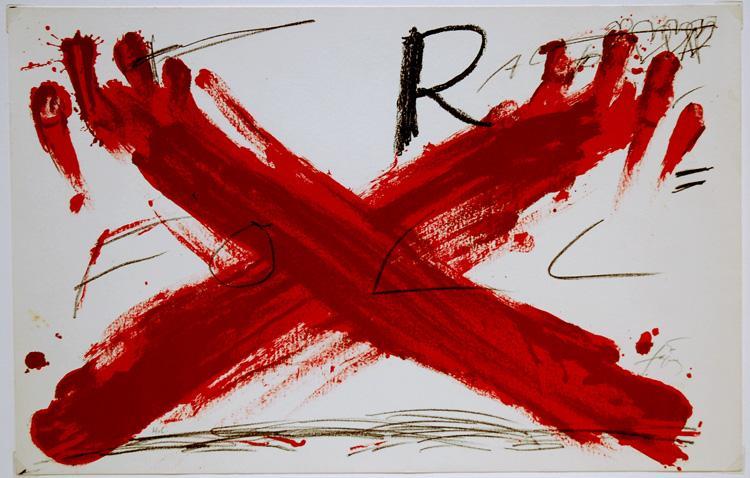 Foll, 1973 - Antoni Tapies