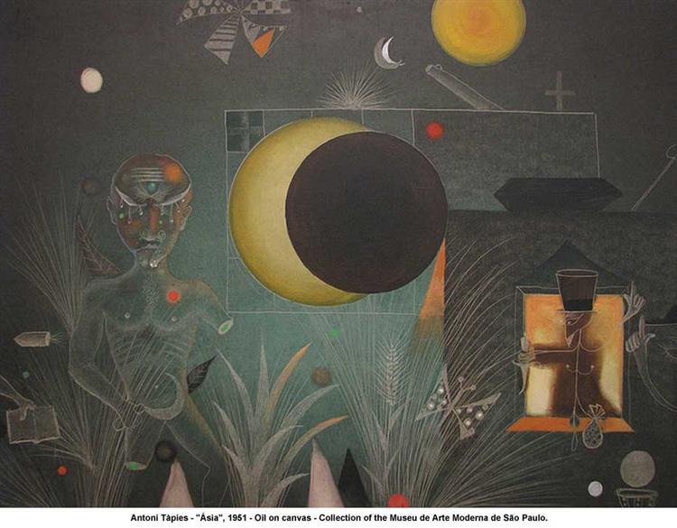 Asia, 1951 - Antoni Tapies