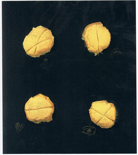 Four, 1992 - Antoni Tapies