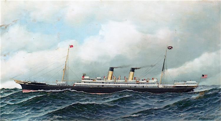 S.S. Oceana, 1915 - Antonio Jacobsen