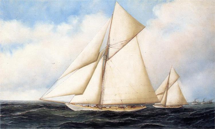 Yacht Race, 1895 - Антонио Якобсен