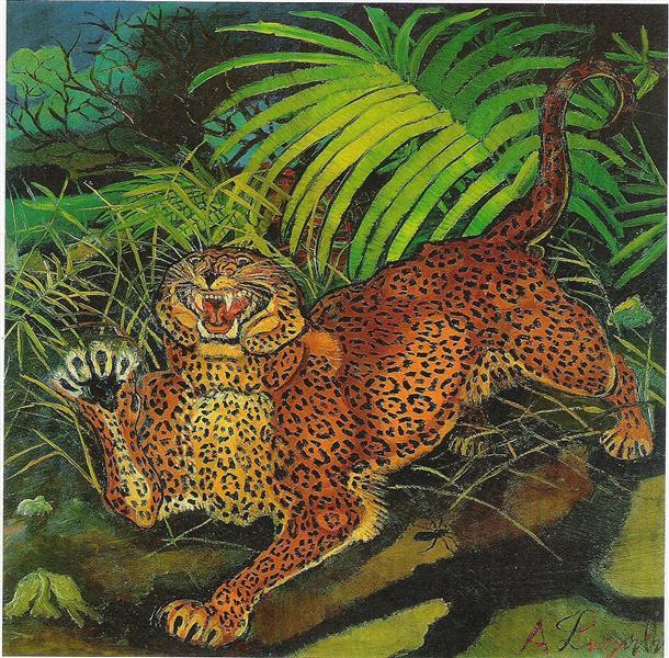 Leopard, 1955 - Antonio Ligabue