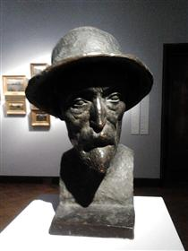 Bust of Pierre-Auguste Renoir - Aristide Maillol