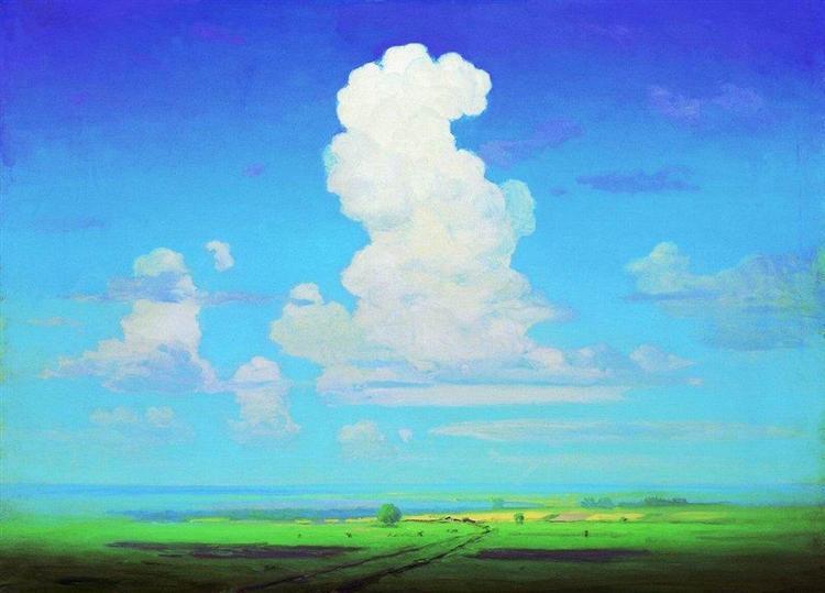 Cloud, c.1908 - Arkhip Kuindzhi
