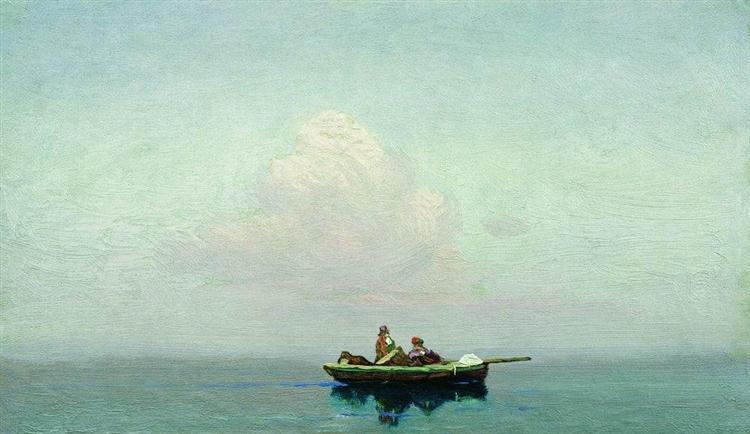 Cloud - Arkhip Kuindzhi
