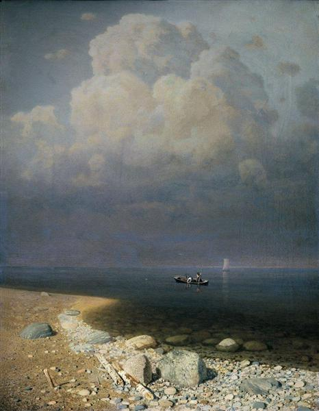 Lake Ladoga, 1873 - Arkhip Kuindzhi